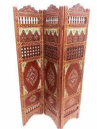 moroccan room divider mediterranean decor interior design