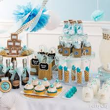prince baby shower favor table idea city