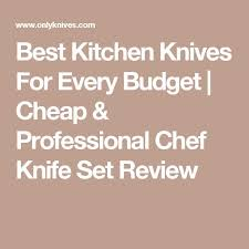 kitchen knives review best 25 professional chef knife set ideas on cutlery