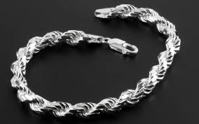 bracelet link styles images Sterling silver chains styles include curb byzantine figaro jpg
