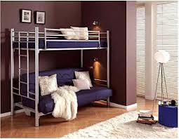 hochbett mit sofa drunter metallisches etagenbett modell 422 mit sofabett hochbett biz