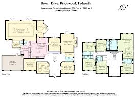 6 bed detached house for sale in beech drive kingswood tadworth