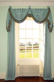 Living Room Curtains With Valance by Swag Curtains For Living Room Inspirations And Valance Images Home