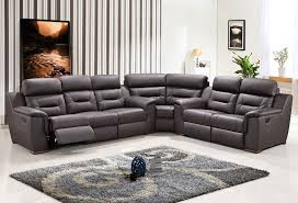 Modern Reclining Sectional Sofas Contemporary Reclining Sectional Sofa Fabrizio Design Cool