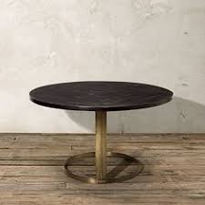 round copper top dining table 54 inch diameter round copper top