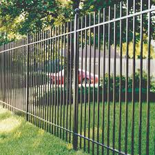 ornamental iron fence fence iron residential romafence