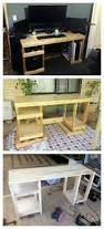 Wood Computer Desk With Hutch Foter by Green Computer Desk Foter