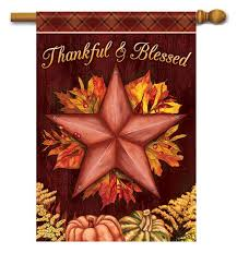thanksgiving house and garden decorative outdoor flags