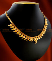 necklace design gold images Nckn12 gold plated jewellery traditional maanga mango necklace jpg
