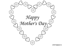mother s day coloring sheet mothers day hearts coloring pages lebron coloring pages free