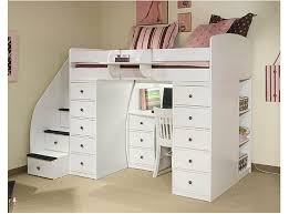 white loft bed with desk white wood full loft bed with desk designs ideas and decors