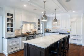 fashionable design kitchen island marble two level in arabascato
