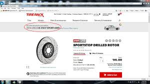lexus rx 400h obzor buyers beware from tirerack if looking for brake rotors