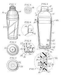 cocktail drawing patent us20040066705 cocktail shaker google patents