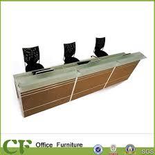 desk for 3 people china modern fashion design 3 person rectangle reception desk