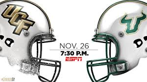 ucf knights host usf during rivalry week on thanksgiving at 7 30