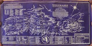 bates map megumaage the home of the micmacs or the true a map of