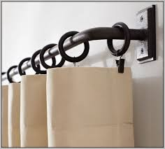 Wood Curtain Rods And Brackets Home Depot Curtain Rods And Brackets Eyelet Curtain Curtain Ideas