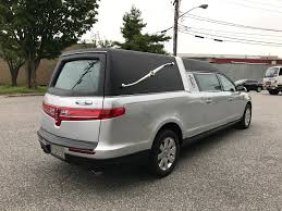 lincoln minivan 2013 lincoln mkt federal stratford used funeral hearse specialty