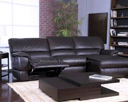 Reclining Leather Sectional Sofas by Sofa Leather Recliner Sectional Sofa Awesome Leather Reclining