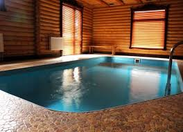pool inside house wooden houses with swimming pools your personal heaven