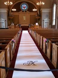 Wedding Runners Wedding Decoration Ideas Church Altar Wedding Decorations Ideas