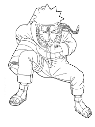 coloring naruto coloring pages