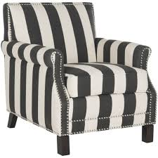 Black And White Striped Accent Chair Black And White Striped Indus Accent Chair Jil Sonia Interiors