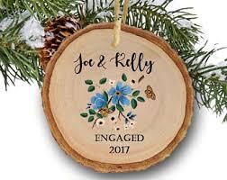 engaged christmas etsy