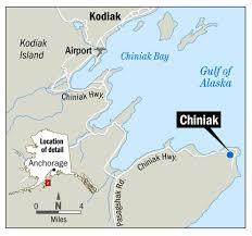 Kodiak Alaska Map by Some Residents Return After Fire Rips Through Kodiak Island
