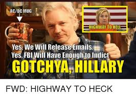 Hell Yes Meme - acdc mug highway to hell yes we will releaseemails yesfbi will
