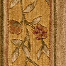 nourtex chelsea trellis color black 9 in carpet border 283344