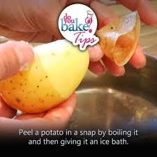 de skin potatoes without a peeler u2013 do you bake