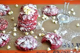 red velvet crinkle cookies kitchen meets