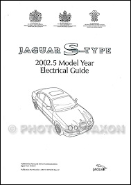 2002 jaguar s type owner u0027s manual original