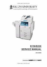 aficio 3224c 3232c b156 b220 service manual