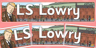 themed ls cursive ls lowry display banner
