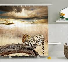 Leopard Print Shower Curtain by Brilliant 30 Leopard Print Bathroom Decor Inspiration Design Of
