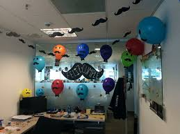 birthday decoration at the office decoration ideas