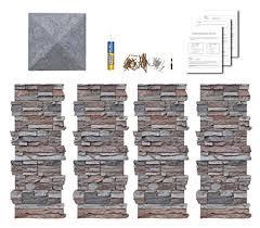Decorative Column Wraps Faux Stone Column Wraps With Easy Install Kit Pole Wrap Post