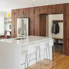 kitchen cabinets houzz modern walnut kitchen cabinets houzz