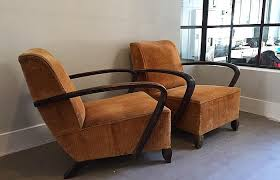 Art Deco Armchairs Sold Art Deco Armchairs French Hutch