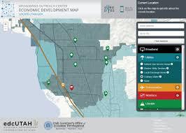 Uvu Map Orem Economic Development