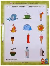 worksheet and cold worksheets for kindergarten wosenly free