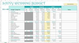 Download Budget Spreadsheet by Savvy Spreadsheets Wedding Budget Spreadsheets The Budget
