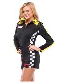 halloween costumes car womens race car costume