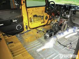 hummer jeep inside busted knuckles 2006 hummer h2 sut project truck truckin