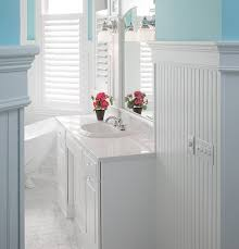 bathroom ideas with beadboard wainscoting styles inspiration ideas to make your room look better