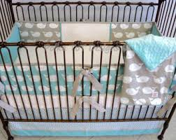 Whale Crib Bedding Whale Crib Bedding Etsy