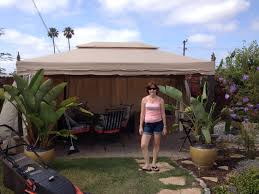 Replacement Canopy For 10x12 Gazebo by Decorating Using Outstanding Garden Winds Gazebo For Cozy Garden